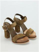 Tod's 18a Suede Platform Sandals