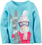 Carter's Ski Graphic Top, Toddler Girls (2T-5T)