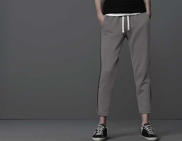 James Perse Side Stripe Track Pant