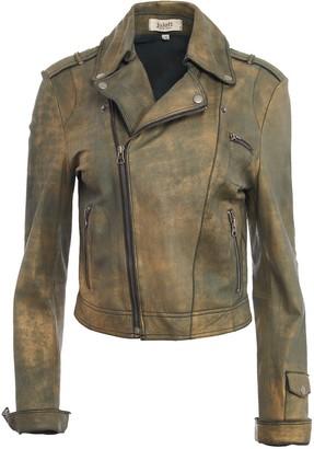 Jakett New York Josey Novelty Leather Jacket