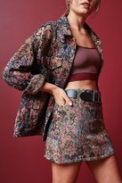 BDG Floral Jacquard Mini Skirt