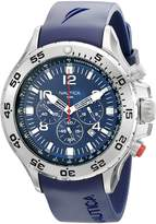 Nautica Men's N14555G NST Stainless Steel Watch with Resin Band