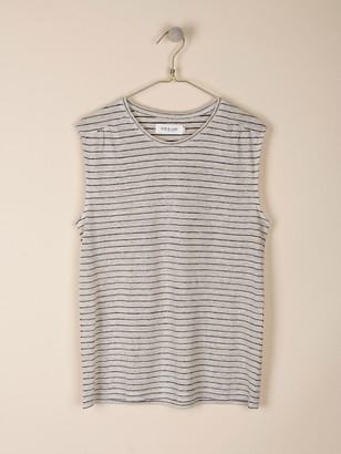 Indi & Cold - Tapioca Stripe T Shirt - XL