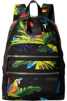 Marc Jacobs Parrot Printed Biker Backpack