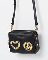 Love Moschino Heart & Peace Crossbody Bag