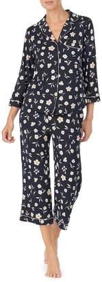Kate Spade 2-Piece Floral-Print Capri Pyjama Set