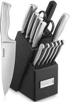 Cuisinart Classic Stainless Steel 15-pc. Knife Block Set, One Size , Gray
