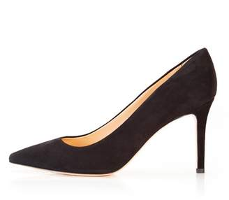 Marion Parke Must Have 85 | Classic Suede High Heel Pump