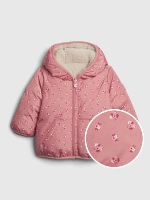 Gap Baby ColdControl Max Reversible Puffer Jacket