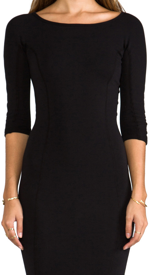 James Perse Side Panel Skinny Dress
