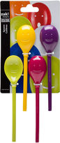 Zak Designs Happy Face 4-pc. Mini Spoon Set