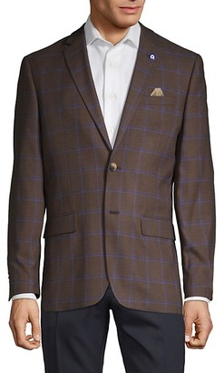 Ben Sherman Classic Plaid Sportcoat