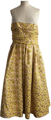 Rochas Yellow Dress for Women