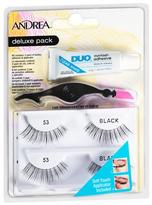 Andrea Deluxe Pack Lashes #53 Black
