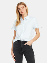Paige Avery Tie Cuff Button Down Shirt