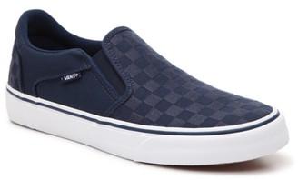 Vans Asher Deluxe Slip-On Sneaker - Men's