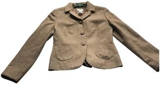 Ann Taylor Brown Wool Jacket for Women