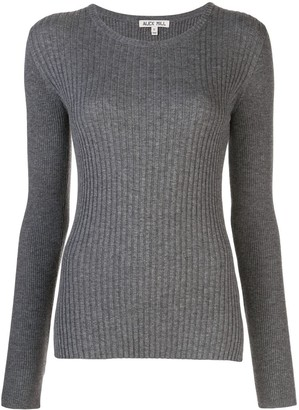 Alex Mill Scoop Neck Ribbed Knit Sweater