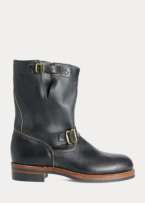 Ralph Lauren Leather Engineer Boot