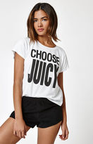 Juicy Couture x PacSun Choose Juicy Logo T-Shirt