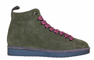 Panchic Panchic Military Green Ankle Boot
