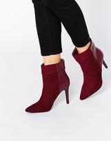 Pieces Psvalerie Heeled Ankle Boots