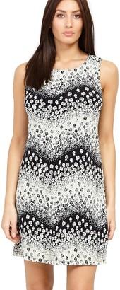 M&Co Izabel ditsy floral shift dress
