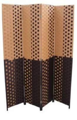 o.r.e International FW0676UA 4-Panel Screen Room Divider on 2-Inch Leg