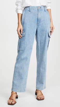 Rag & Bone Super High-Rise Cargo Jeans