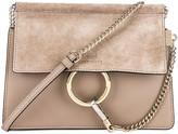 Chloé Mini Faye Shoulder Bag in Motty Grey | FWRD