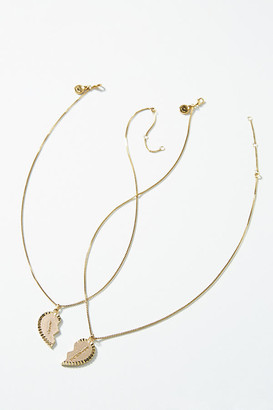 Best Friends Necklace Set By Sugar Blossom in Gold