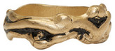 Maison Margiela Gold Graphic Ring