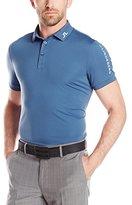J. Lindeberg Men's M Tour Tech Tx Jersey Polo Shirt with Logo