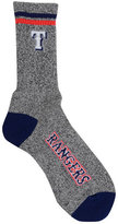 For Bare Feet Texas Rangers Heathered Crew Socks