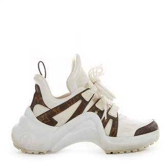 Louis Vuitton Archlight White Cloth Trainers