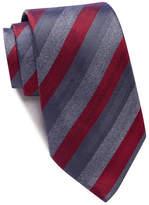 John Varvatos Stripe Wide Tie