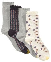 Gold Toe Women's 4-Pk. Floral Socks