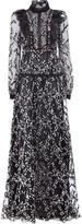 Giambattista Valli sheer ruffled dress - women - Silk/Cotton/Polyamide/Viscose - 42