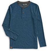 Manguun Striped Henley Top