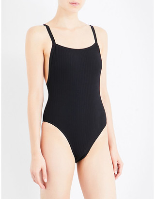 Seafolly Inka rib swimsuit