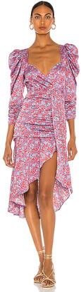For Love & Lemons Charlie Midi Dress