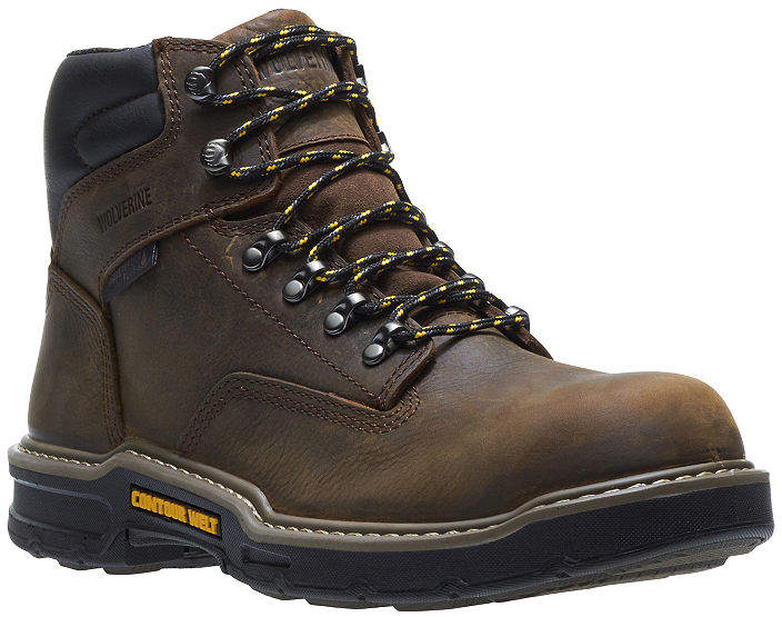 6b050b66378 Mens Bandit Waterproof Slip Resistant Lace-up Work Boots