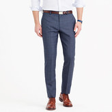 J.Crew Ludlow suit pant in glen plaid American wool