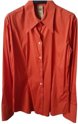 Faberge Orange Cotton Tops