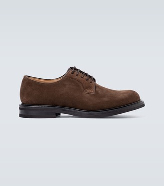 Church's Shannon LW suede Derby shoes