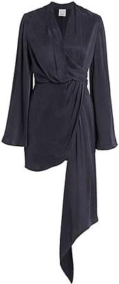 Acler Martin Flute-Sleeve Dress