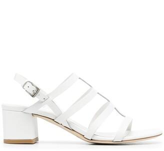 Del Carlo Strappy 50mm Leather Sandals
