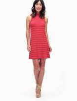 Splendid Loralie Stripe Mock Neck Dress