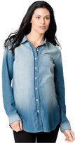 A Pea in the Pod Maternity Chambray Shirt
