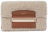Thumbnail for your product : Jimmy Choo Carolina Small shearling shoulder bag